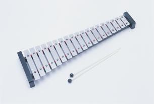 グロッケン(鉄琴)の写真素材 [FYI03984717]