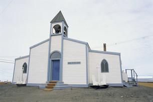 マクマード基地の教会の写真素材 [FYI03984830]