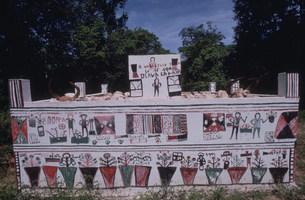 マハファリ族の墓の写真素材 [FYI03984862]
