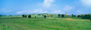 高原の観光牧場の写真素材 [FYI03984923]