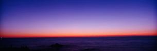 日本海の夕照の写真素材 [FYI03984956]