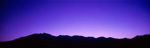乗鞍高原の夕空の写真素材 [FYI03985051]