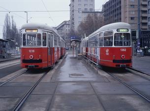 トラム ウィーン オーストリアの写真素材 [FYI03985223]