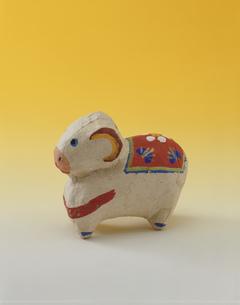 三春素張子の十二支 羊の写真素材 [FYI03985249]