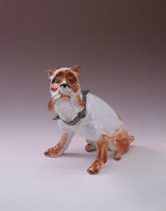 陶器の犬の写真素材 [FYI03985250]