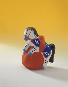 水原土人形の馬の写真素材 [FYI03985259]