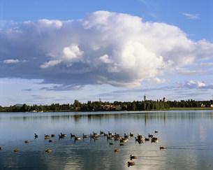 シリアン湖の写真素材 [FYI03985414]