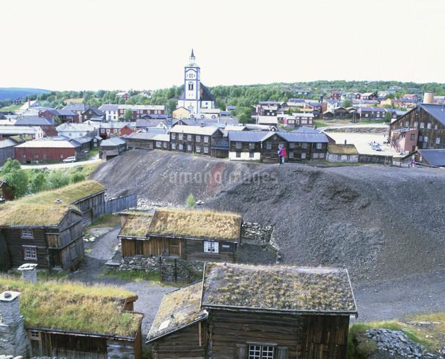 レーロースの旧鉱山町の写真素材 [FYI03985426]