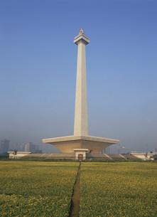 モナス 独立記念塔 頂の炎の彫の写真素材 [FYI03985767]