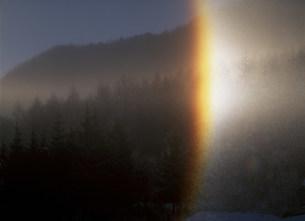 ダイアモンドダストの虹の写真素材 [FYI03986008]