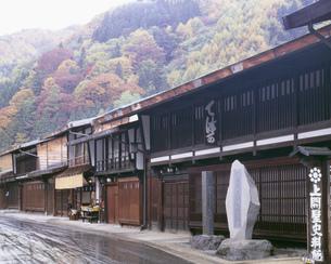 奈良井宿の写真素材 [FYI03986119]