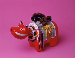 三春赤ベコの写真素材 [FYI03986195]