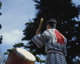 祭の太鼓の写真素材 [FYI03986461]