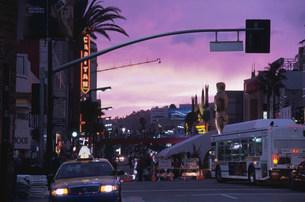 ハリウッドの街並みの写真素材 [FYI03986777]