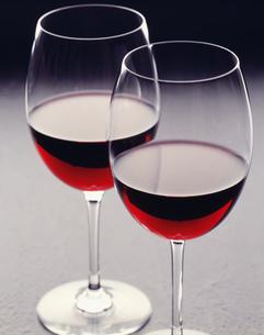 グラスワイン赤の写真素材 [FYI03987486]