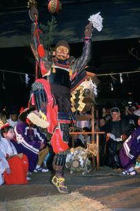 鬼祭 八町神明社の写真素材 [FYI03987840]