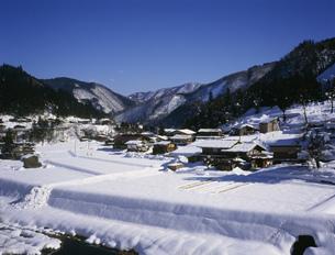 冬の山中和紙の里の写真素材 [FYI03987930]