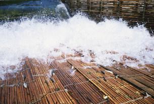 美並観光ヤナ 長良川の写真素材 [FYI03987944]