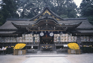 大神神社 拝殿の写真素材 [FYI03988140]