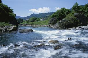 長良川の流れの写真素材 [FYI03988223]