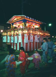 新野の盆踊り行事の写真素材 [FYI03988443]