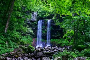 夫婦滝の写真素材 [FYI03988675]