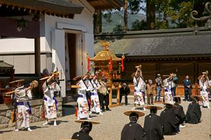水無神社例大祭  闘鶏楽の写真素材 [FYI03988849]