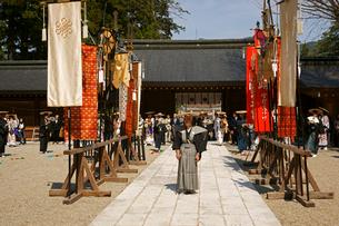水無神社例大祭の写真素材 [FYI03988852]