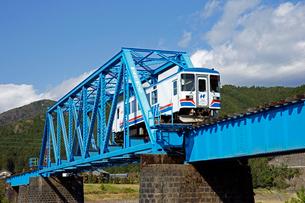 長良川鉄道 長良川第三橋梁の写真素材 [FYI03989246]