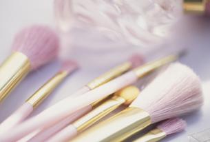 化粧ブラシの写真素材 [FYI03989628]