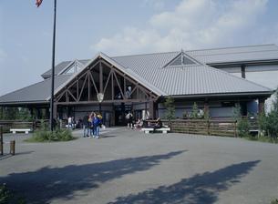 インフォメーションセンター デナリ国立公園の写真素材 [FYI03989886]