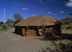 インディアン住居 キャニオンデシェリー国定公園の写真素材 [FYI03989971]