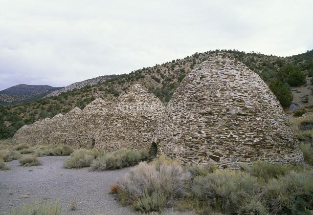 石炭炉 デスバレー国立公園の写真素材 [FYI03989985]