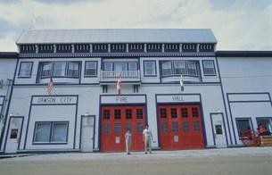 ドーソンシティ消防署の写真素材 [FYI03990092]
