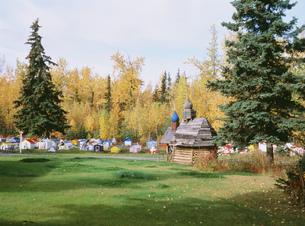 エクルトナインディアン墓地の写真素材 [FYI03990114]