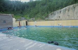 サークル温泉プールの写真素材 [FYI03990119]