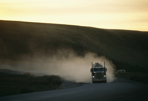 大型トレーラーの写真素材 [FYI03990178]