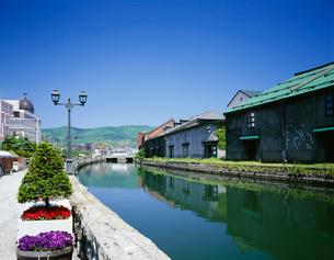 小樽運河の写真素材 [FYI03990491]