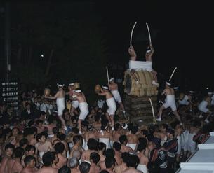 飛騨古川祭 起し太鼓の写真素材 [FYI03991139]