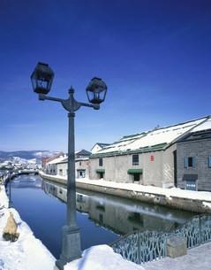 小樽運河の写真素材 [FYI03991333]