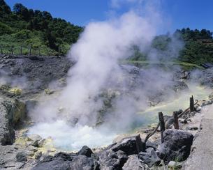 玉川温泉 大噴の写真素材 [FYI03991407]