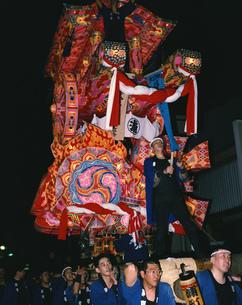 夜高祭の写真素材 [FYI03991447]