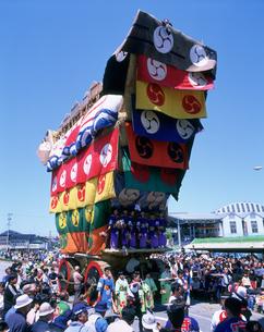 青柏祭(デカ山祭)の写真素材 [FYI03991448]