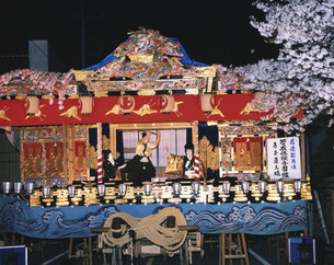 小鹿神社例大祭の小鹿野歌舞伎の写真素材 [FYI03991483]
