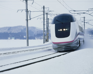 秋田新幹線こまちの写真素材 [FYI03991496]