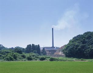 城取清掃工場のダイオキシン発生の写真素材 [FYI03991546]