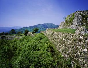 竹田城跡の写真素材 [FYI03991606]