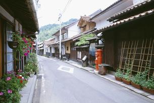 石見銀山の町の写真素材 [FYI03991640]