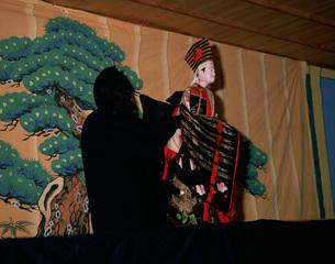 川上文楽恵那神社の写真素材 [FYI03991811]