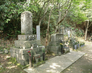 水替無宿の墓の写真素材 [FYI03991867]